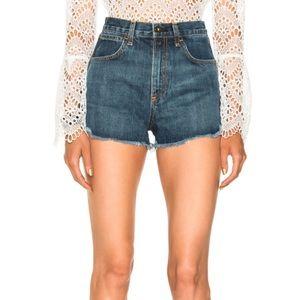 Rag and Bone • Lou High Rise Denim Cutoff Shorts